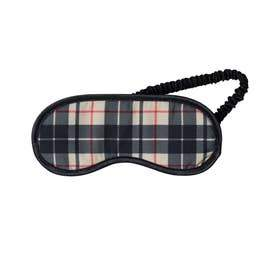 Plaid Eye Mask - Fruit of the Vine
