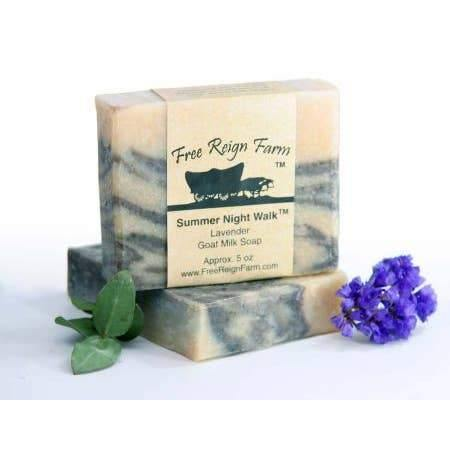 Summer Night Walk Goat Milk Soap