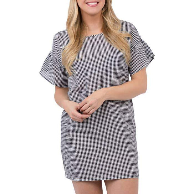 Charlotte Gingham Dress - Fruit of the Vine