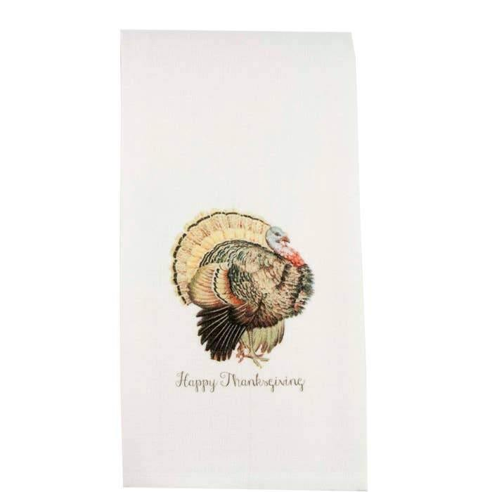 Happy Thanksgiving Tea Towel