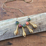 Tie Dye & Spring Necklace - Fruit of the Vine