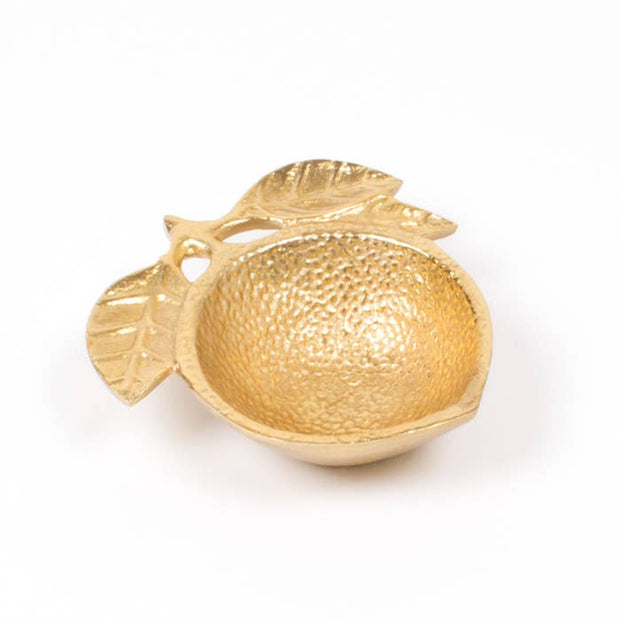 Gold Lemon Trinket Dish