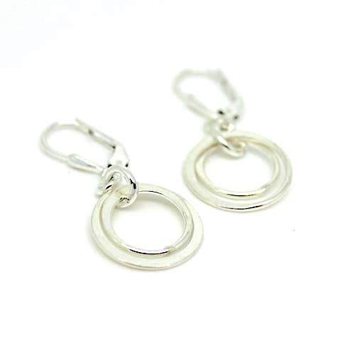 Two Ring Earrings - Fruit of the Vine