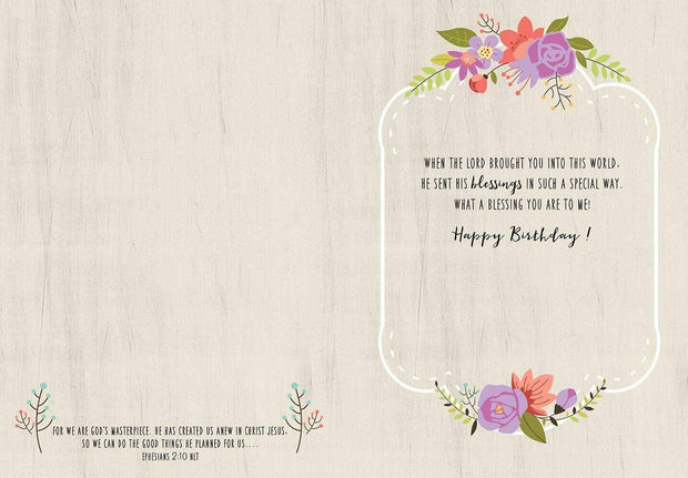 Fearfully Made Birthday Card | Fruit of the Vine Boutique