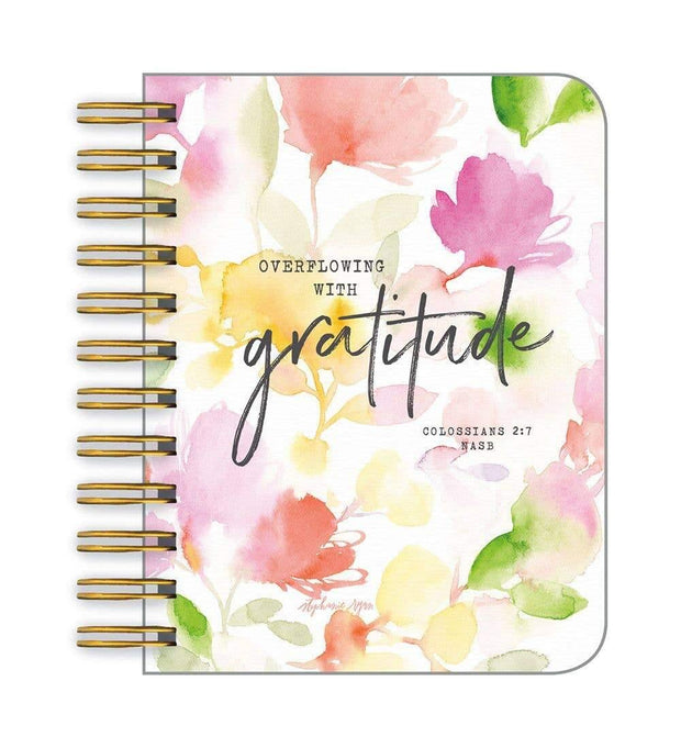 Gratitude Blessing Little Spiral Notebook | Fruit of the Vine Boutique