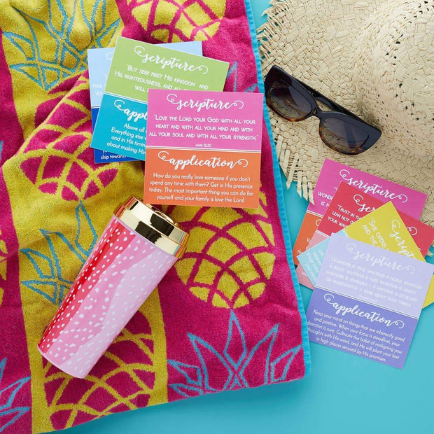 Girl on the Go Devotional Cards with Stand - Fruit of the Vine