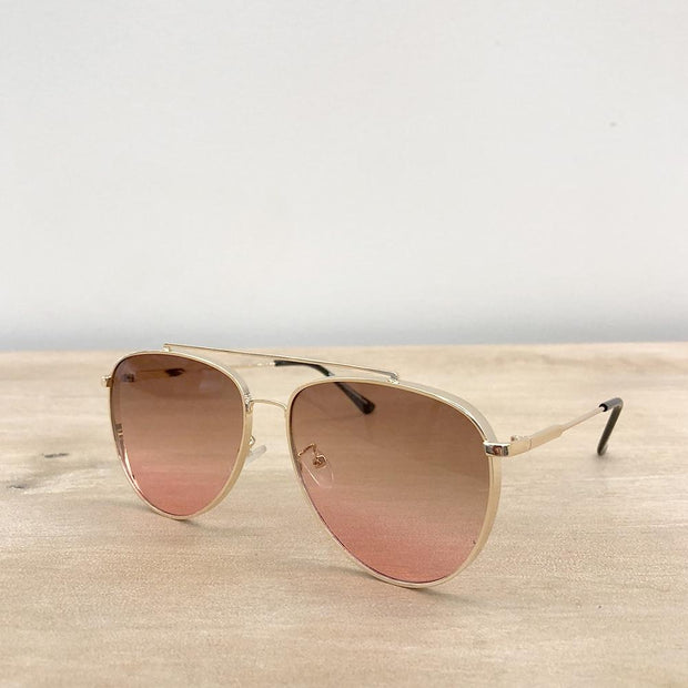 TRS Maxwell Aviator Sunglasses - Fruit of the Vine