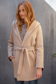 Maddox Brushed Knit Coat