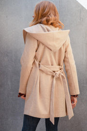 Maddox Brushed Knit Coat | Fruit of the Vine Boutique