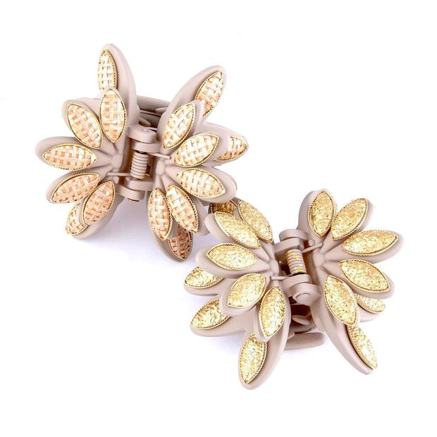 Flower Claw Hair Clips - Fruit of the Vine