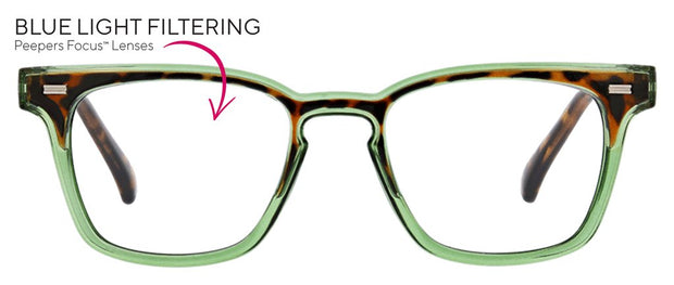 Peepers Strut Blue Light Reading Glasses - Fruit of the Vine