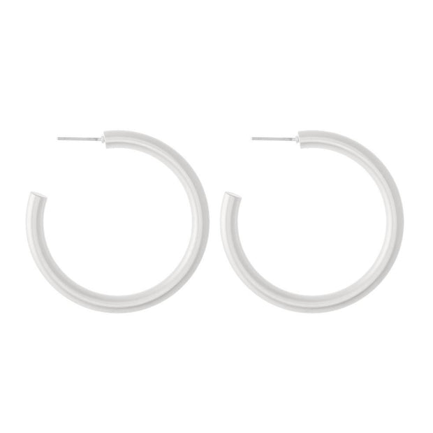 Matte Hoops | Fruit of the Vine Boutique