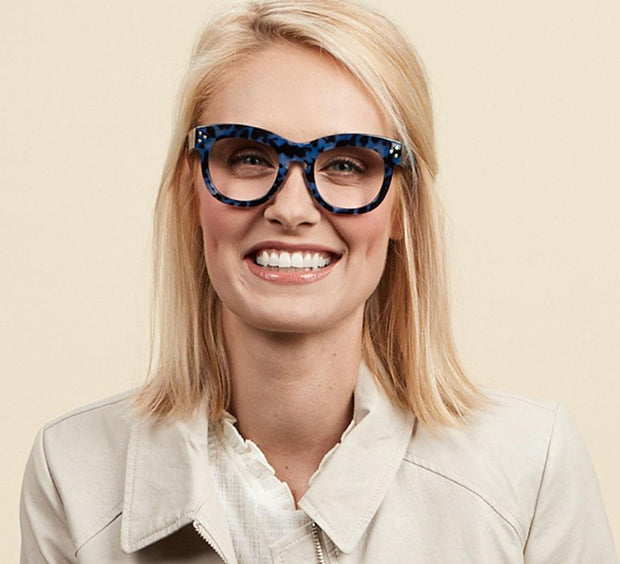 Peepers Bravado Blue Light Reading Glasses + 0.00 - Fruit of the Vine