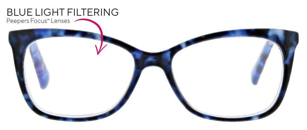 See the Beauty Blue Light Readers | Peepers | Fruit of the Vine Boutique