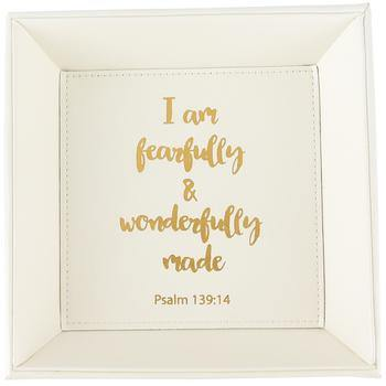 Fearfully & Wonderfully Made Catchall Tray | Fruit of the Vine Boutique