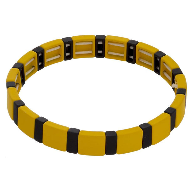 Yellow and Black Bracelet - Fruit of the Vine