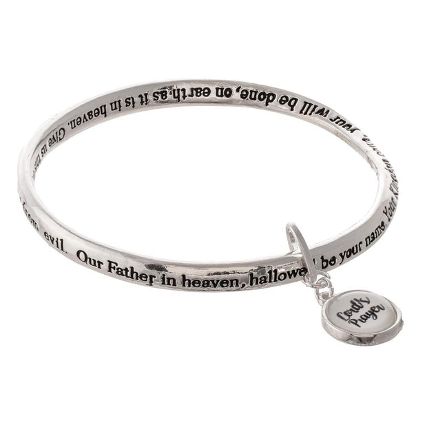 Lord's Prayer Charm Bracelet - Fruit of the Vine