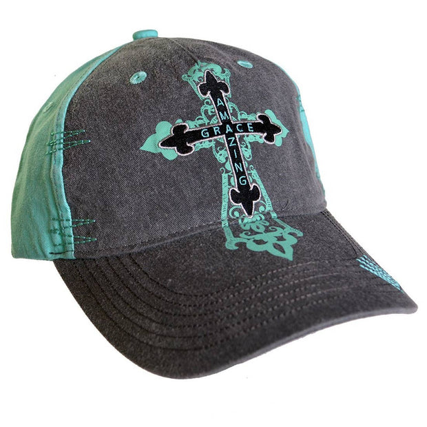 Amazing Grace Cross Hat - Fruit of the Vine