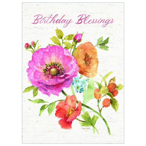 Country Fresh Flowers Birthday Card | Fruit of the Vine Boutique