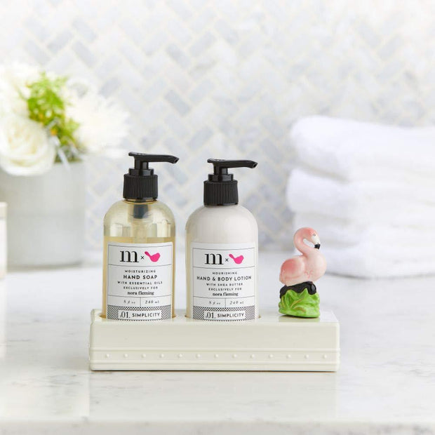 Melamine Soap and Lotion Set - Fruit of the Vine