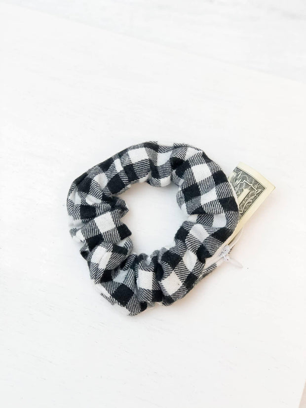Hidden Pocket Hair Scrunchie