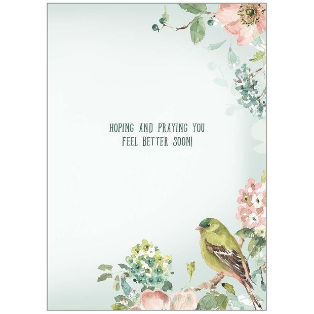 My Cup Overflows Get Well Card | Fruit of the Vine Boutique