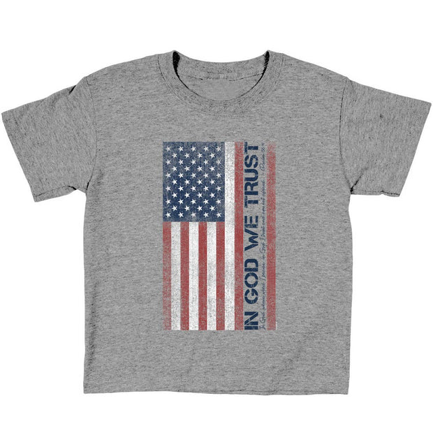 In God We Trust Psalm 56:4 Kids Tee
