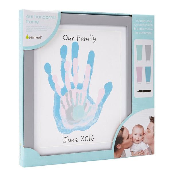 Family Handprint Frame - Fruit of the Vine