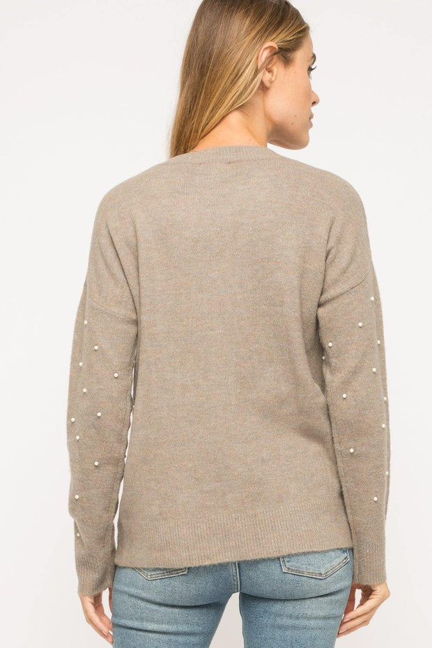 Pearl Taupe Top