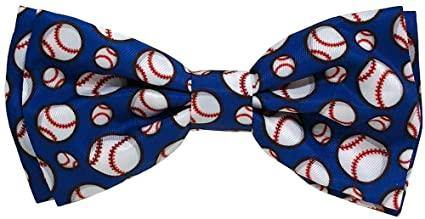 Baseball Dog Bow Tie | Fruit of the Vine Boutique