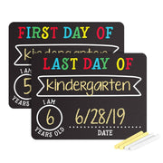First and Last Day of School Chalkboards | Fruit of the Vine Boutique