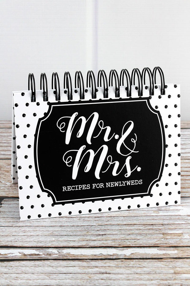 Mr. and Mrs. Easel Recipe Book