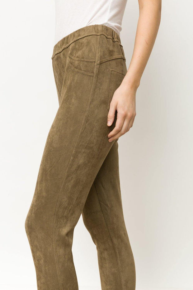 Suede Jeggings