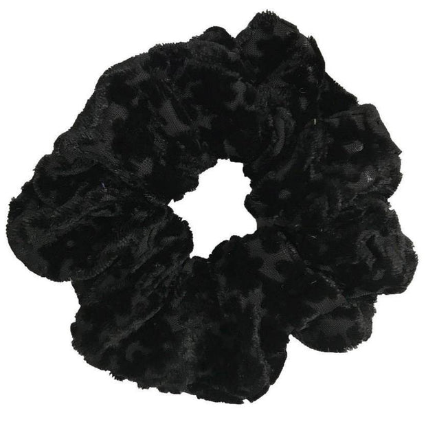 Velvet Burnout Scrunchies