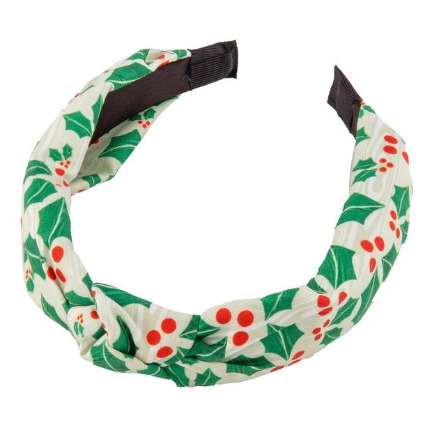 Mistletoe Printed Headband