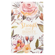 Proverbs 31:25 'Strength & Dignity' Flexcover Journal