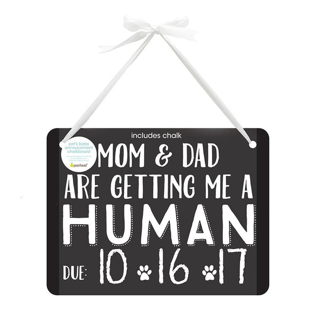 Pet's Baby Announcement Chalkboard - Fruit of the Vine