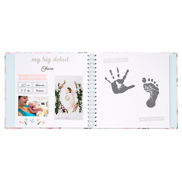 Baby's Memory Book and Sticker Set - Fruit of the Vine