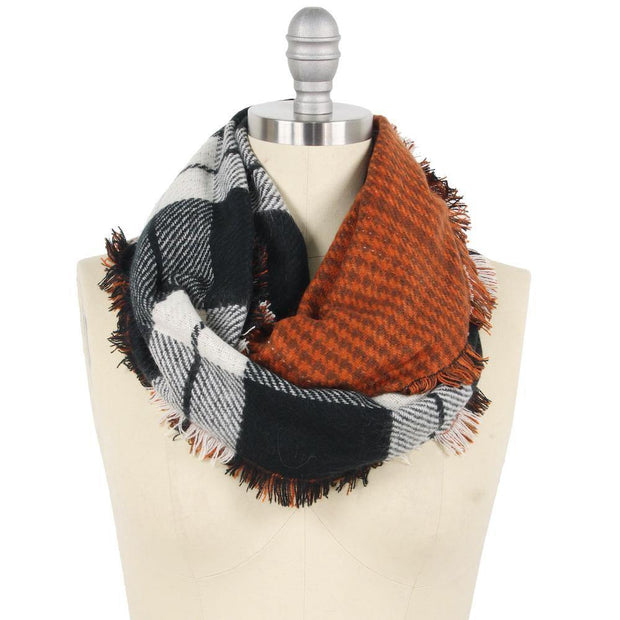 Plaid Infinity Scarf | Fruit of the Vine Boutique