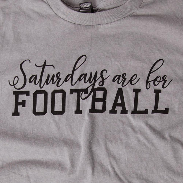 Saturdays are for Football Graphic Tee | Fruit of the Vine Boutique