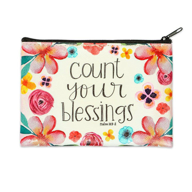 Count Your Blessings Coin Purse