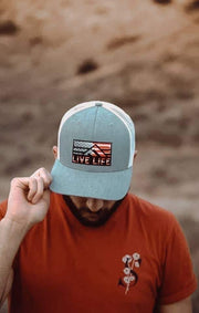 Live Life USA Retro Life Hat