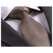Jacquard Silk and Cashmere Neck Ties