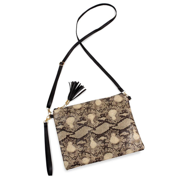 Python Crossbody Bag - Fruit of the Vine