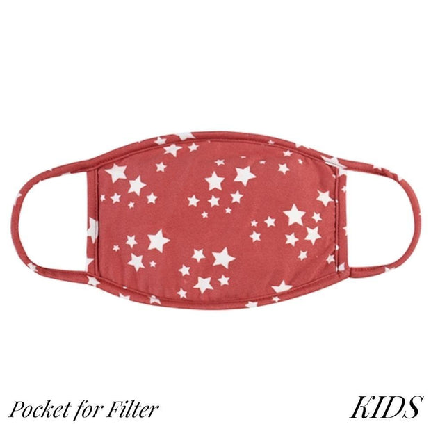 Kids Masks with Filter Pocket