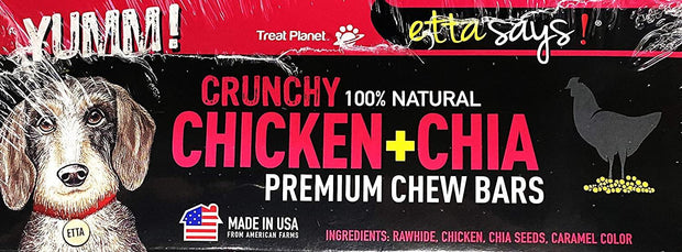 Crunchy Premium Chew Bar Dog Treats