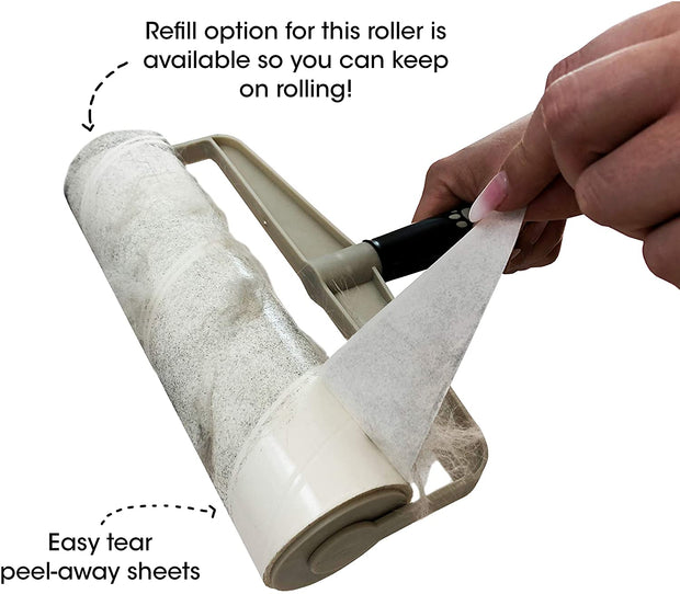Spotty Supersized Lint Roller - 60 Sheets - Fruit of the Vine