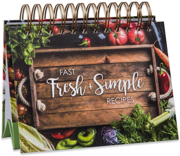 Fast Fresh + Simple Easel Recipe Book