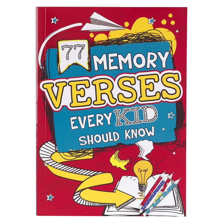 77 Memory Verses Every Kid Should Know