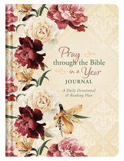 Pray through the Bible in a Year Journal: A Daily Devotional & Reading Plan - Fruit of the Vine